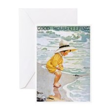 card_child_beach Greeting Cards