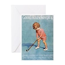 card_child_golf Greeting Cards