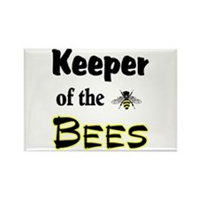 Keeper of the Bees Rectangle Magnet