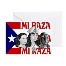 NEW!! MI RAZA (FOR WOMEN) Greeting Card