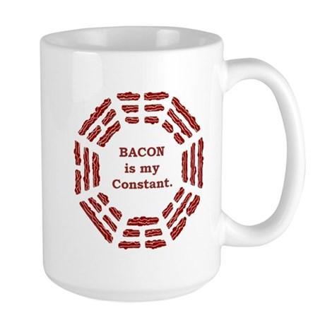BACON is my CONSTANT Large Mug