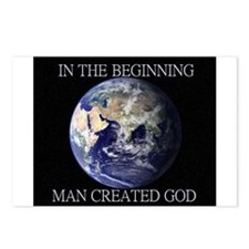 Man Created God Postcards (Package of 8)