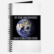 Man Created God Journal