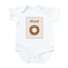 I'Pood Brown - Infant Bodysuit