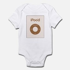 I'Pood Brown - Infant Bodysuit