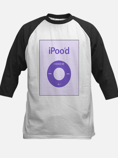 I'Pood Purple - Kids Baseball Jersey