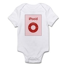 I'Pood Red Infant Bodysuit