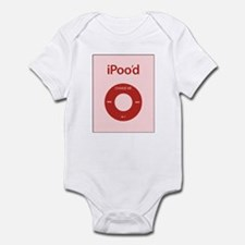 I'Pood Red Infant Bodysuit