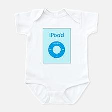 I'Pood Turquoise - Infant Bodysuit
