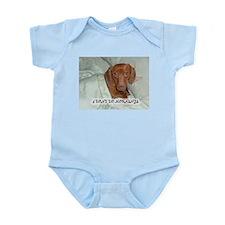 Mornings Dog Infant Bodysuit