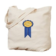 Greatest Dad Tote Bag