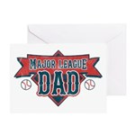 Major League Dad Greeting Card