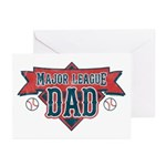 Major League Dad Greeting Cards (Pk of 20)