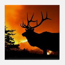 Elk Tile Coaster