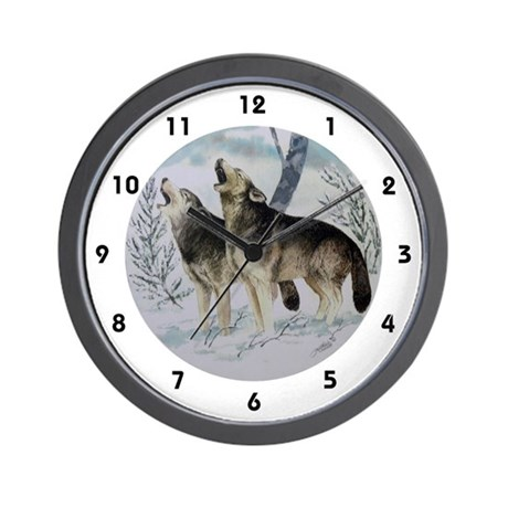 Kindred Spirits Wall Clock