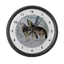 Kindred Spirits Large Wall Clock