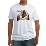 Hawk spirit Fitted Light T-Shirts