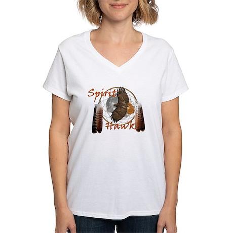 Spirit Hawk Women's V-Neck T-Shirt