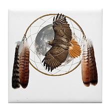 Spirit Hawk Tile Coaster
