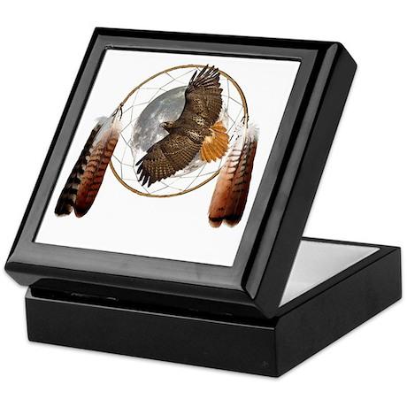 Spirit Hawk Keepsake Box