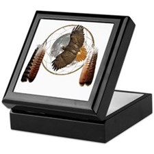 Spirit Hawk Keepsake Box