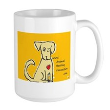 AnimalHealingConnection White Cat Mug