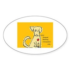 AnimalHealingConnection White Cat Decal