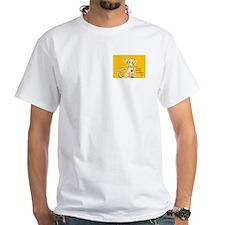 AnimalHealingConnection White Cat Shirt