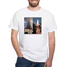 Atheist Tower of Babel NASA Shirt