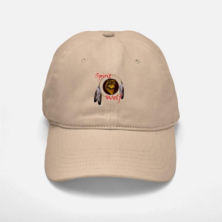 Spirit Wolf Baseball Baseball Cap
