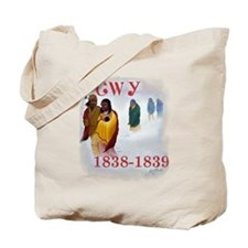Cherokee Trail of Tears Tote Bag