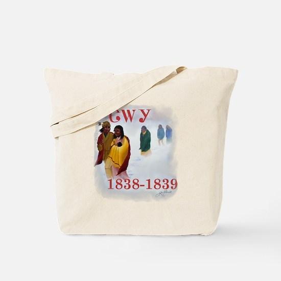 Cherokee Trail of Tears Tote Bag