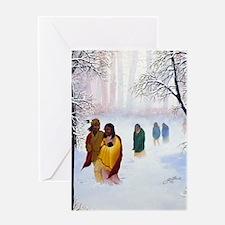 Cherokee Trail of Tears Greeting Card