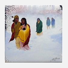 Cherokee Trail of Tears Tile Coaster