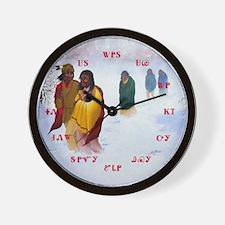 Cherokee Trail of Tears Wall Clock