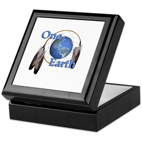 One Earth Keepsake Box
