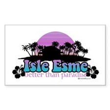 Isle Esme - Better Than Paradise Decal