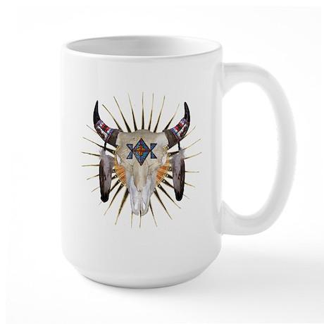 Southwest Buffalo Star Large Mug