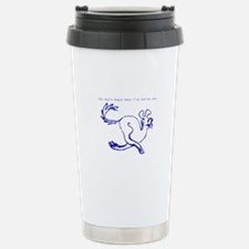 Fun Run Dog Stainless Steel Travel Mug