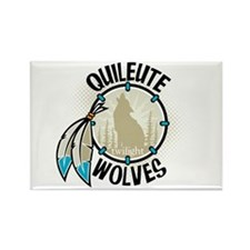 Twilight Quileute Wolves Rectangle Magnet