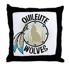 Twilight Quileute Wolves Throw Pillow