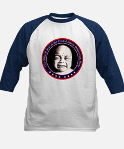 Democrat Seal Kids Baseball Jersey