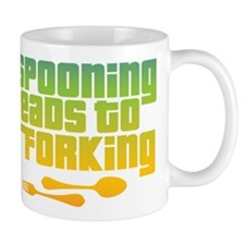 Spooning Small Mug