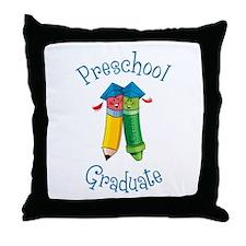 Cute Preschool graduation Throw Pillow