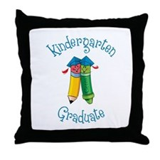 Unique Preschool graduation Throw Pillow