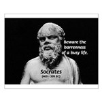 Socrates: Wisdom from Leisure (Poster Small)