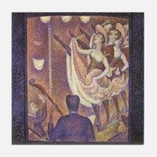 Seurat The Can-Can Tile Coaster