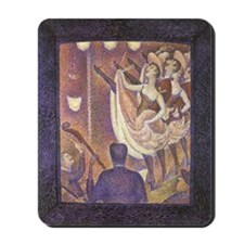 Seurat The Can-Can Mousepad