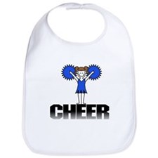 Blue Cheerleading Bib