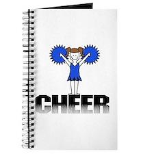 Blue Cheerleading Journal